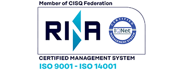 RINA Certified Management System ISO 9001 ISO 14001